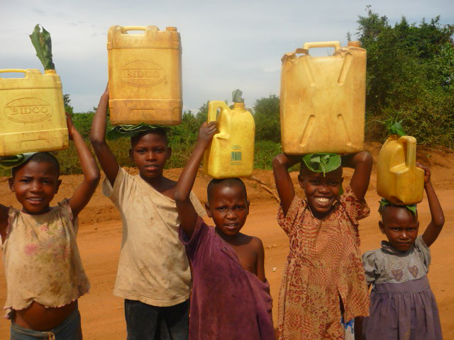 Jerry Cans Kampala And Entebbe Uganda Children