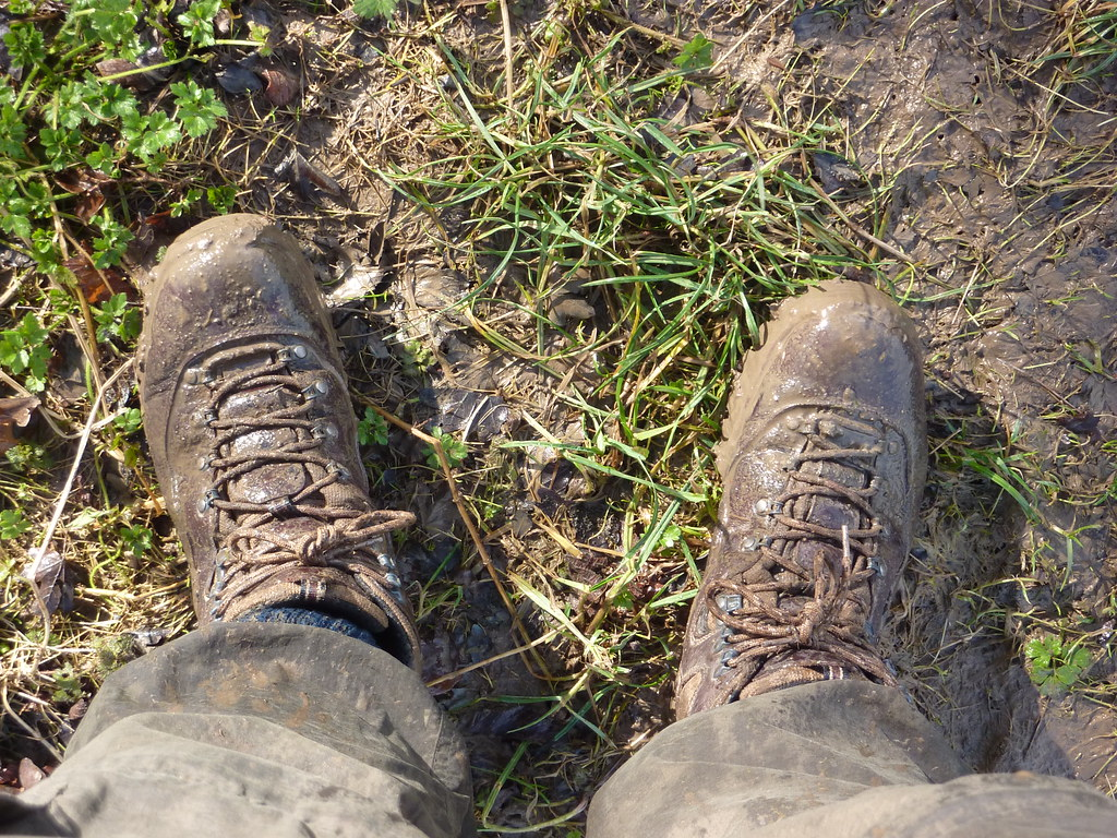 Exceptionally Muddy Boots You Wouldn T Know After Ten