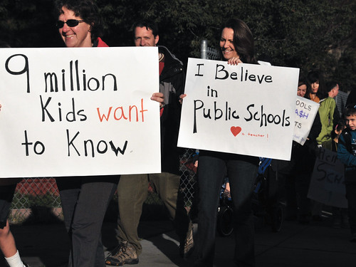 9 million kids want to know - March4 Day of Action | by (nz)dave
