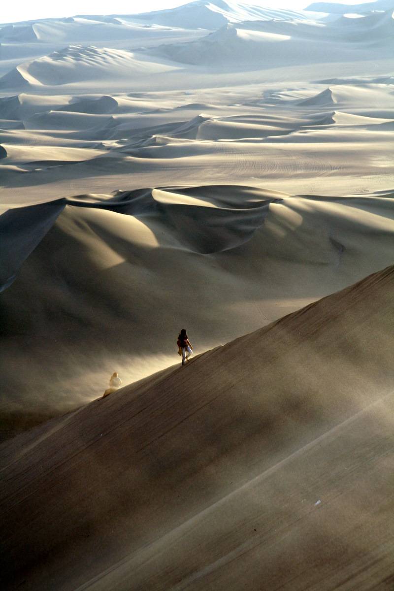 Huacachina , Ica , Peru , Nazca , Desert
