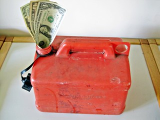 Petrol Can with Dollars | by Images_of_Money