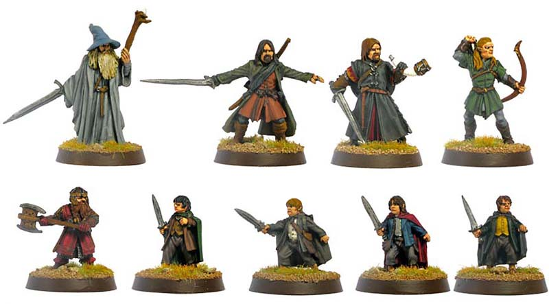 Lord Of The Rings Tabletop Figures