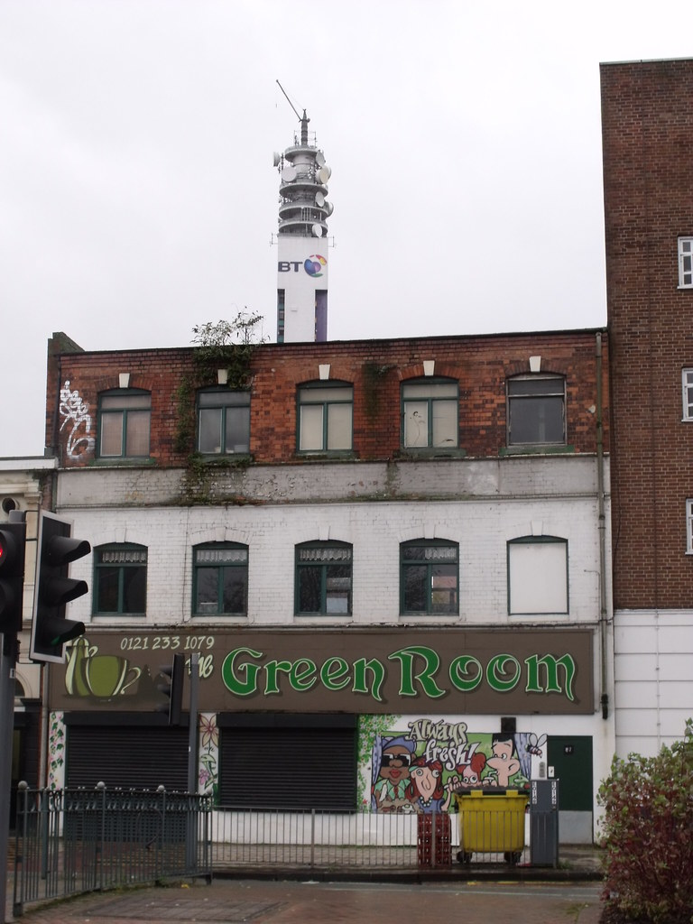The green room old snow hill birmingham and the bt tow for Green room birmingham