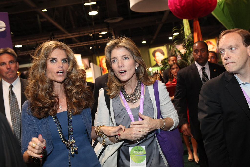 Maria Shriver And Caroline Kennedy Thewomensconference Flickr