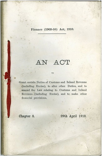 finance act 1910 | by carltonreid