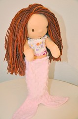 "16"" Waldorf Doll Mermaid Outfit- Emily 