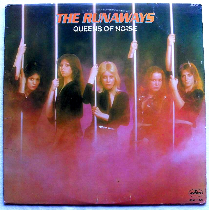 The Runaways Front Cover Vintage Lp Record Vinyl Album 197