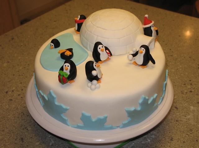 Easy To Make Penguin Cake