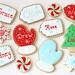 Chirstmas Tag Cookies