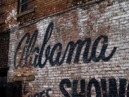 Alabama Ghost Sign, Birmingham, AL | by Robby Virus