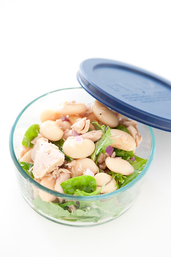 tuna butter bean salad | by jules:stonesoup
