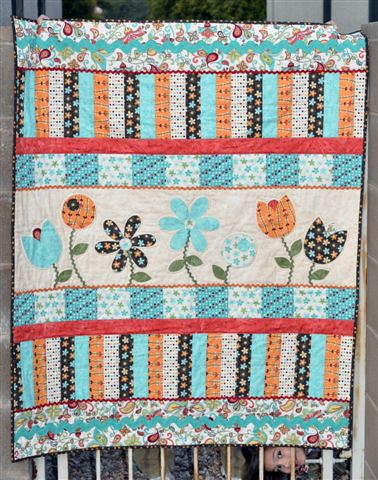 Bloom & Grow Quilt | by Melanie Dramatic