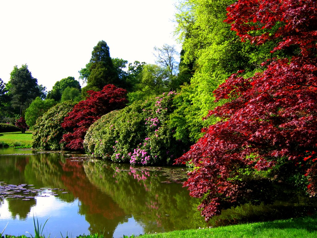 Beautiful gardens of the world - Sheffield Park A National Trust Garden In East Sussex Flickr