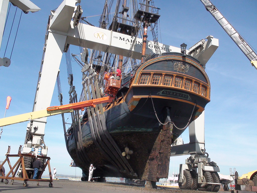 Hms Surprise At Chula Vista Marine Group Boat Works Flickr