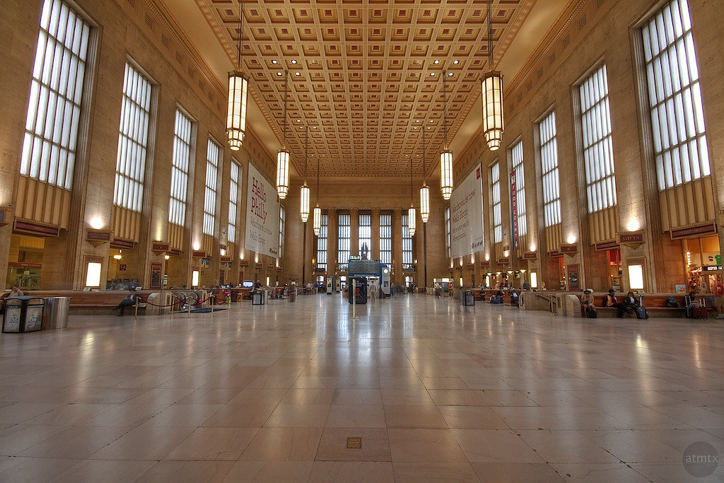 The Grand 30th Street Station Main Waiting Area 30th Stre Flickr