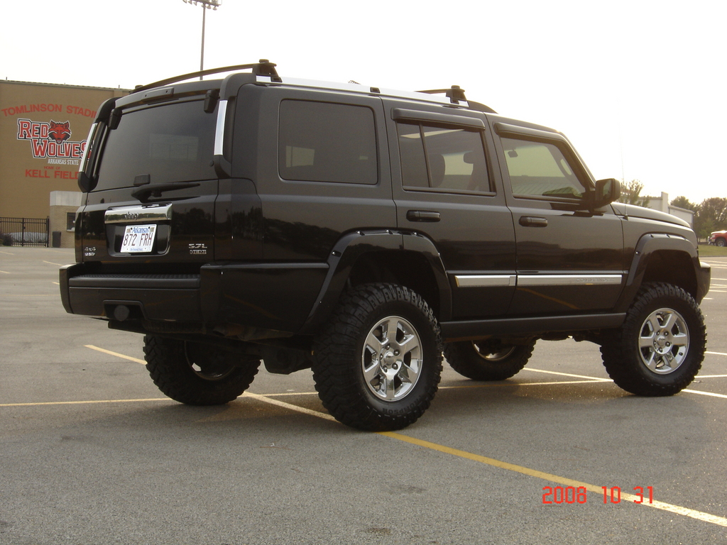 Jeep Commander Lifted 6in. in front and 4in. in back ...