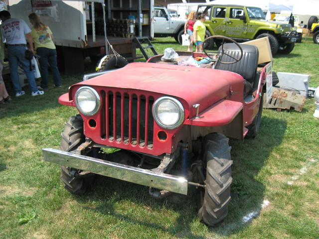 Old Willys With Some Nasty Tractor Tread Tires Pa Jeeps