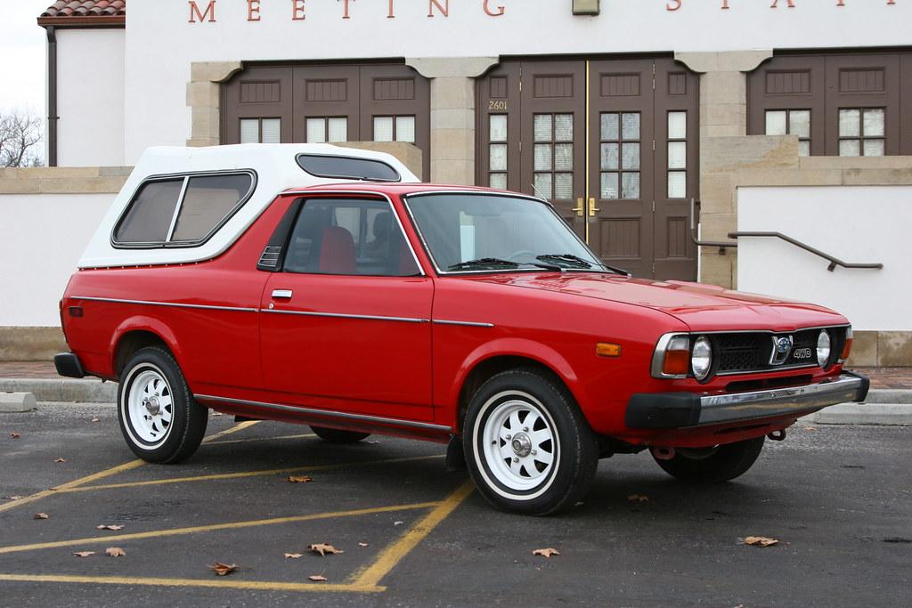 1980 Subaru Brat 4x4 Restored Clean Little 1980 Subaru
