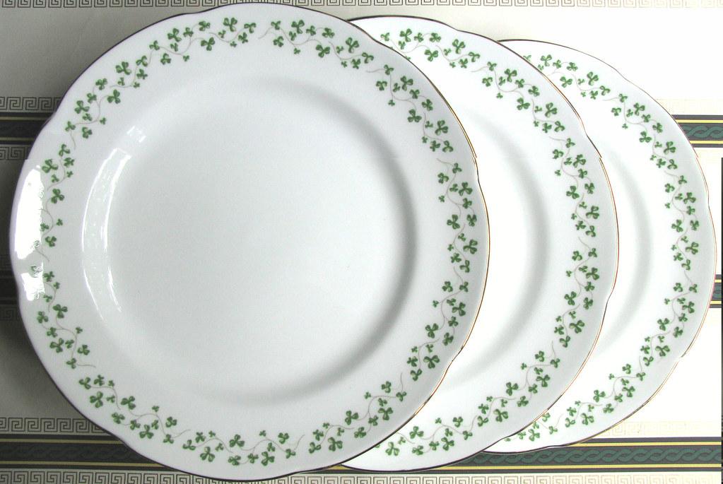 ... PetitPoulailler 1980 Royal Tara Irish Bone China Shamrock Swirled Dinner Plates | by PetitPoulailler & PetitPoulailler 1980 Royal Tara Irish Bone China Shamrocku2026 | Flickr