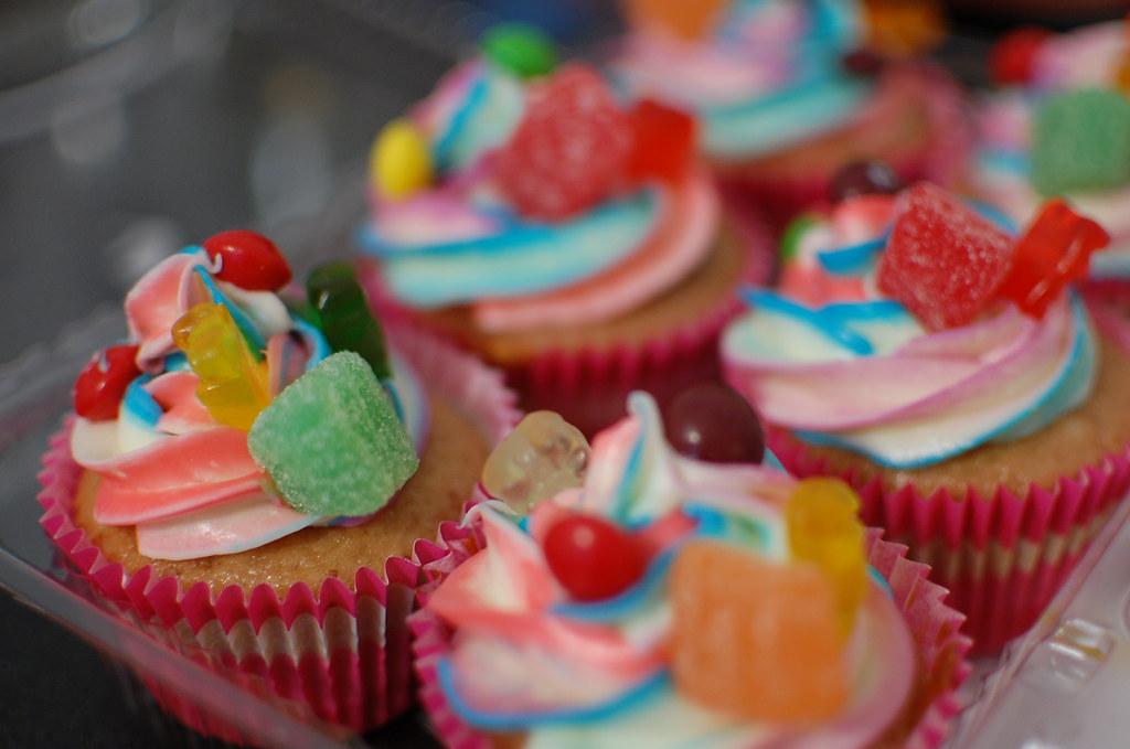 Neon Ice Cream Cake