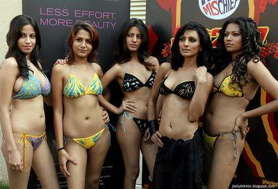 Picture of indian girls in bikini