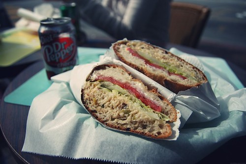 Crab melt sandwich at Toasties | by The Adamant Wanderer