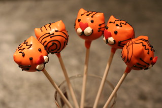 Tiger Cake Pops | by Sweet Lauren Cakes