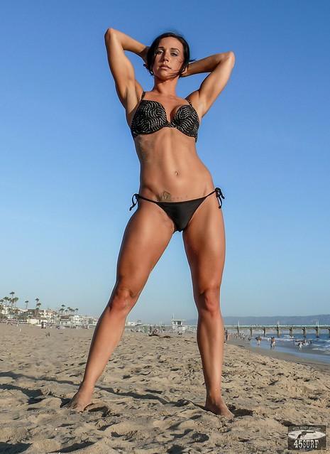 Brunette Fitness Model 100