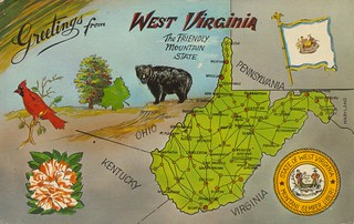 Greetings From West Virginia | by The Cardboard America Archives