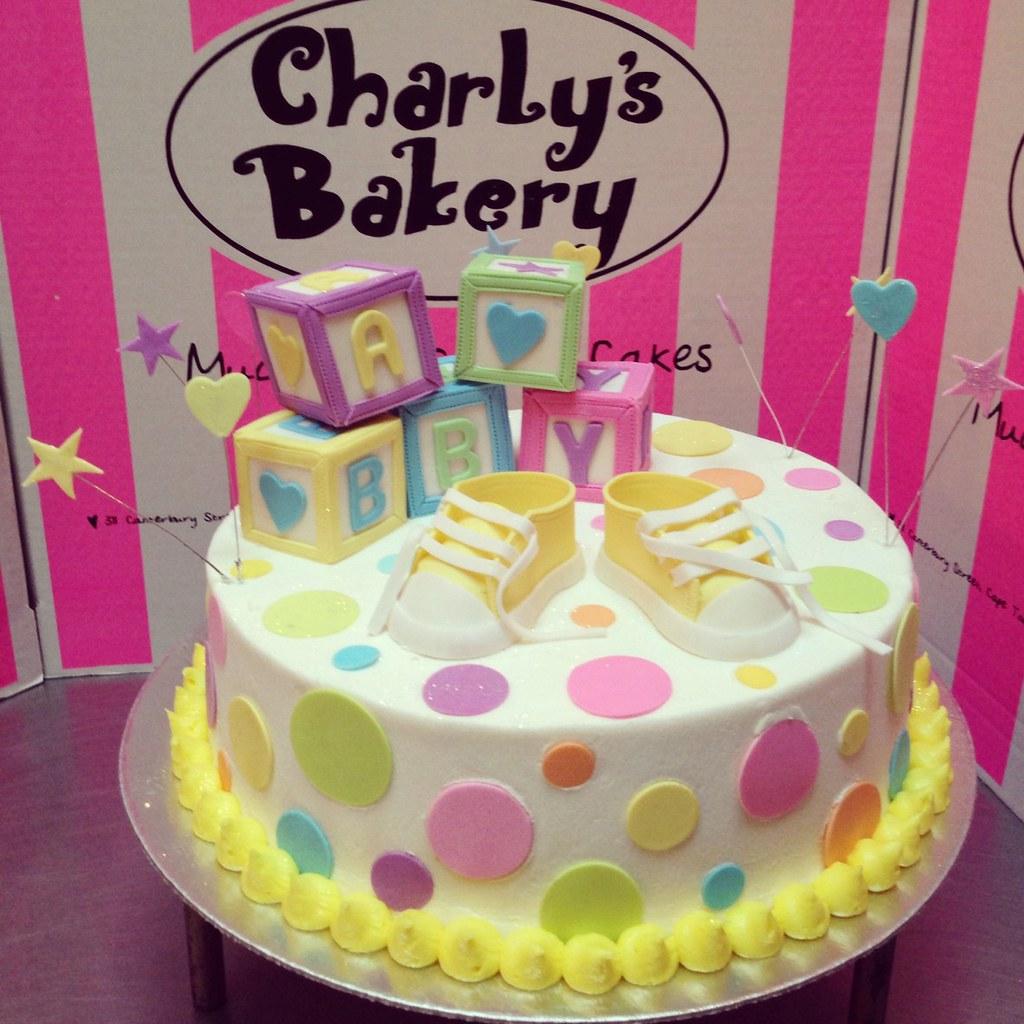 Baby Shower Cake Decorations Unisex