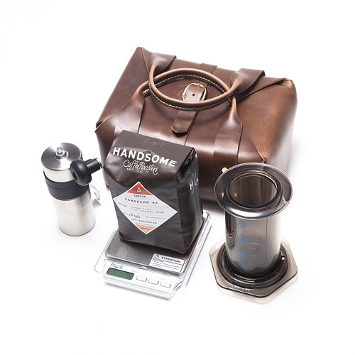 3SIXTEEN X HCR TRAVEL COFFEE KIT | by mutineermagazine