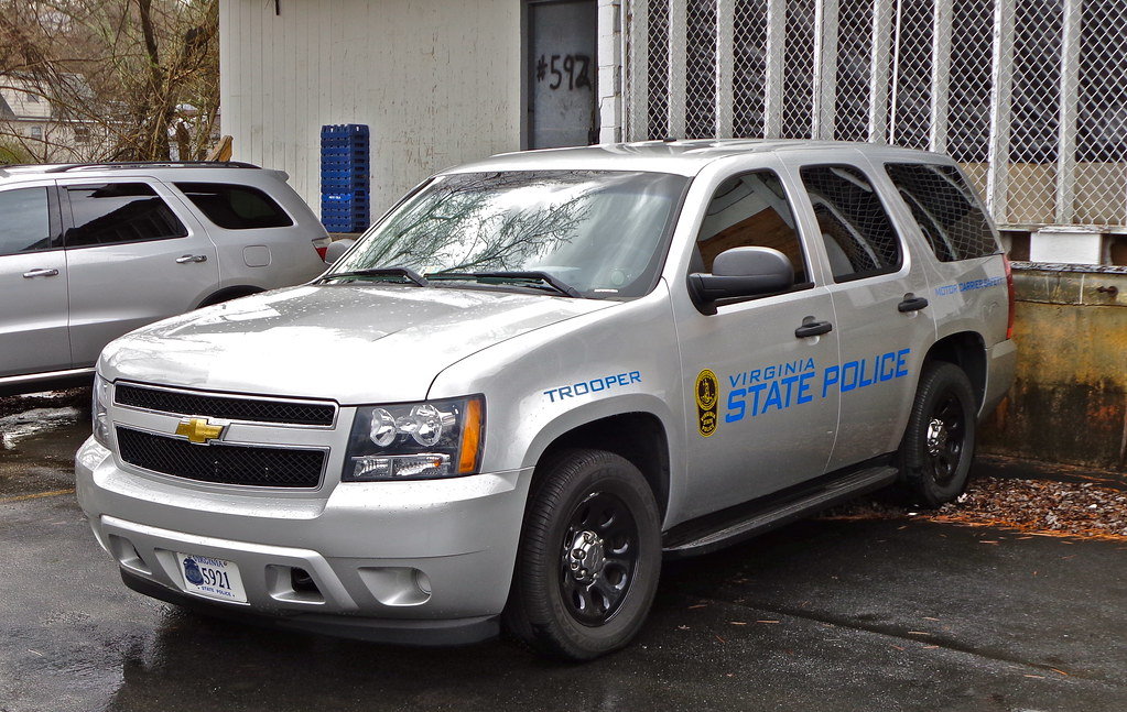 Virginia State Police Virginia State Police Chevrolet Taho Flickr