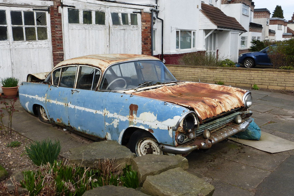 Vauxhall Cresta \'57-\'62 model PA | Clapped-out car. My guess… | Flickr