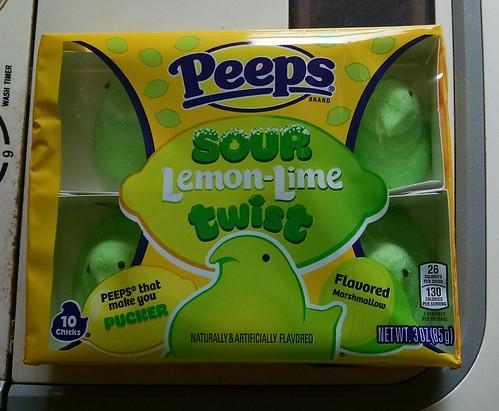 Sour Lemon Lime Twist Peeps