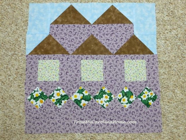 Be My Neighbor Quilt Block 6 ~ From My Carolina Home