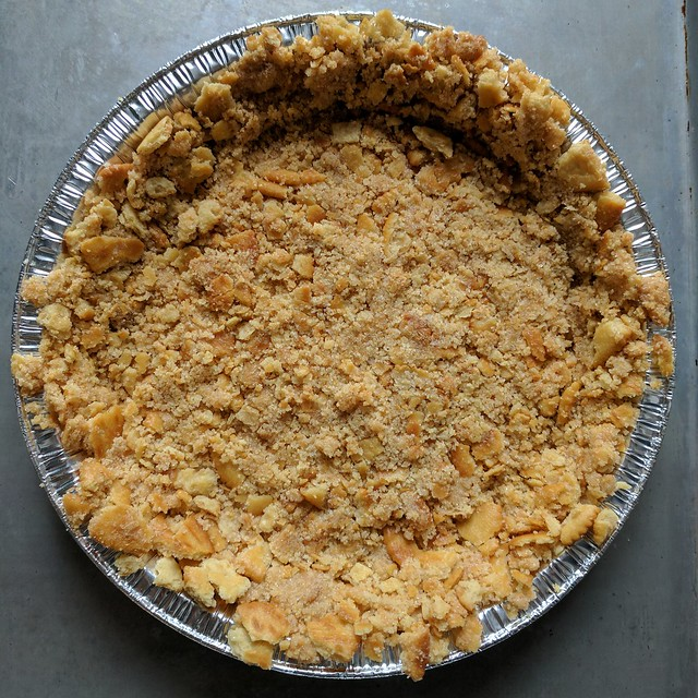 Grapefruit Pie - Ritz Cracker Crust