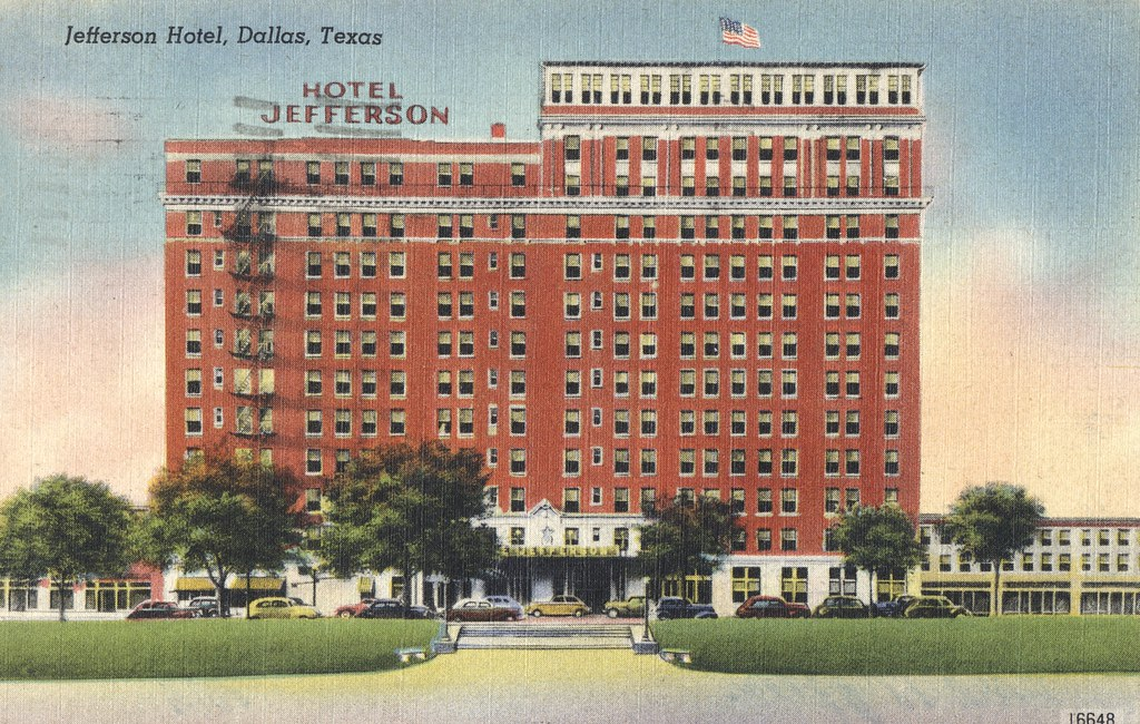 Jefferson Hotel - Dallas, Texas