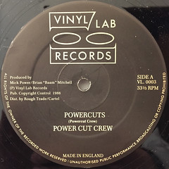 POWER CUT CREW:POWERCUTS(LABEL SIDE-A)