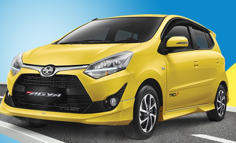 Front Grill Mobil Toyota New Agya