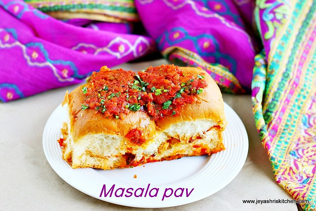 Masala- pav recipe