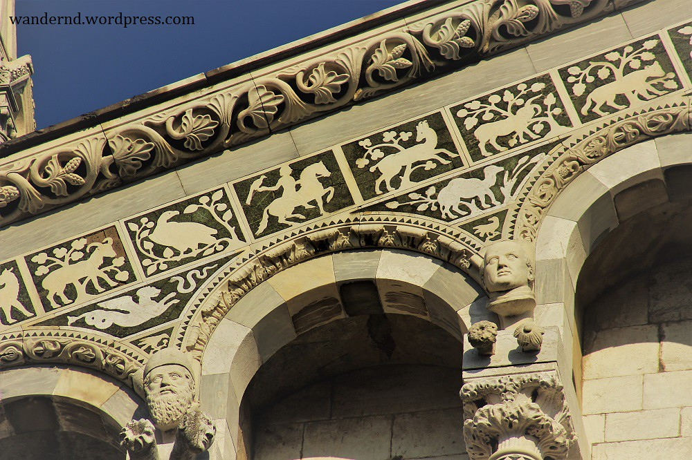 Lucca San Michele Tierdarstellungen