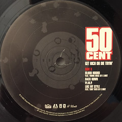 50 CENT:GET RICH OR DIE TRYIN'(LABEL SIDE-C)
