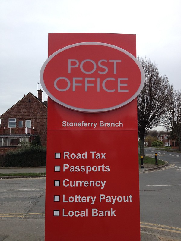 Post Office - Road Tax