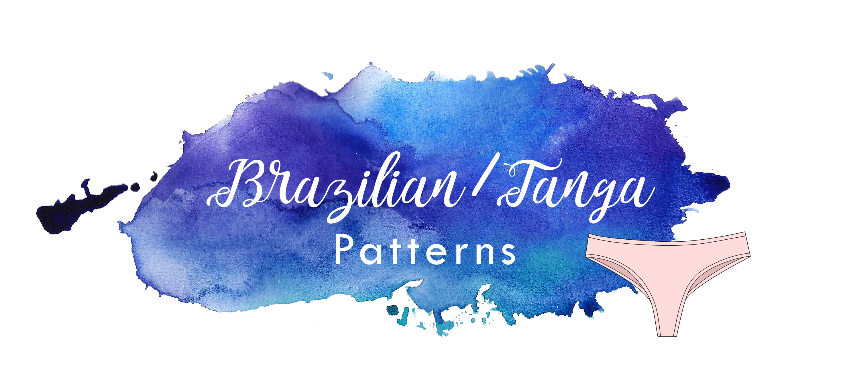 brazilian tanga underwear knickers sewing panties patterns