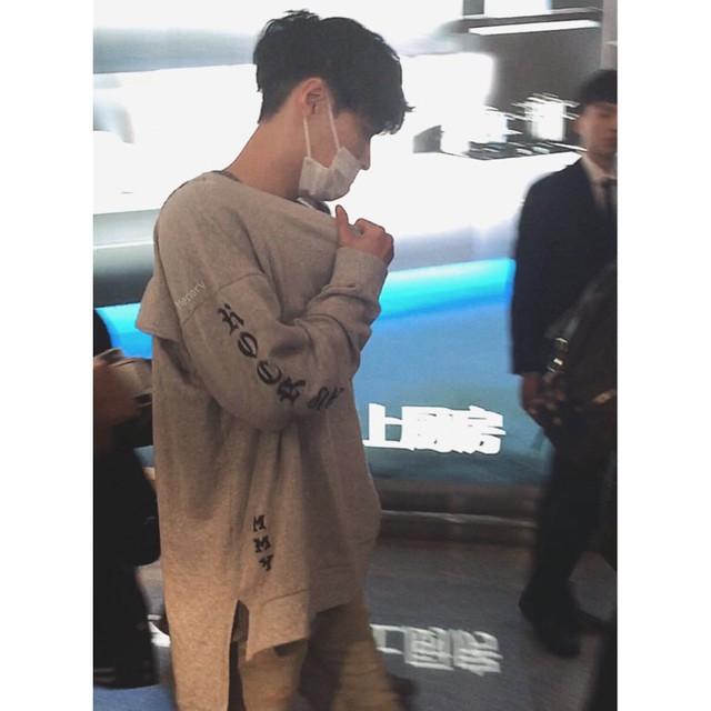 170413 Lay at Haneda Airport