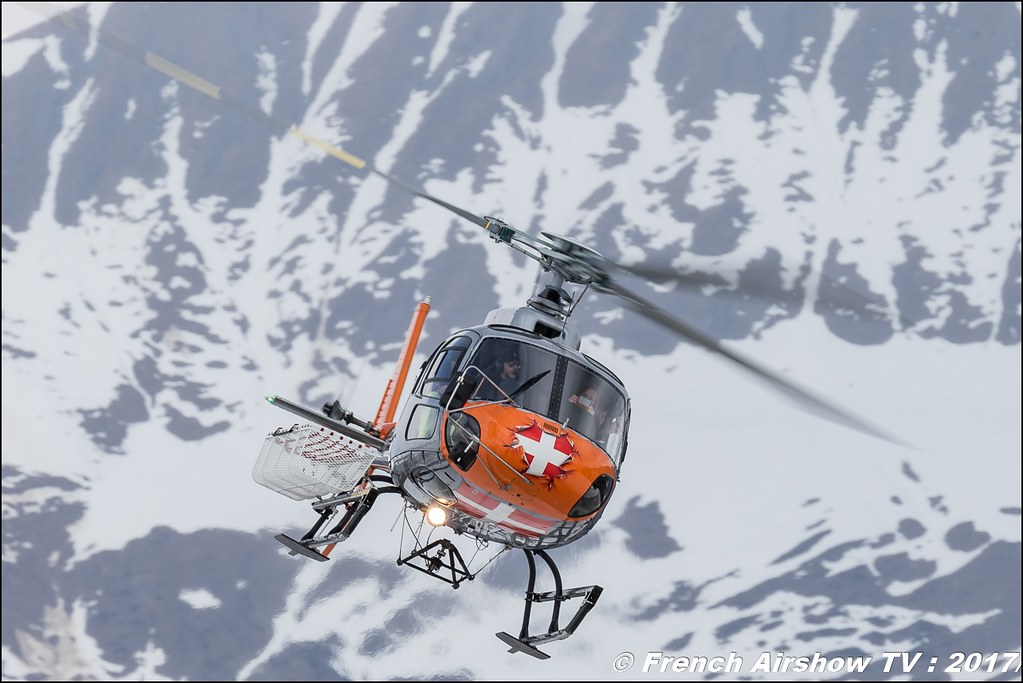 Airbus Helicopters H125 - F-HLLJ , CMBH - Chamonix Mont blanc Hélico , Fly Courchevel 2017 , Hélico 2017
