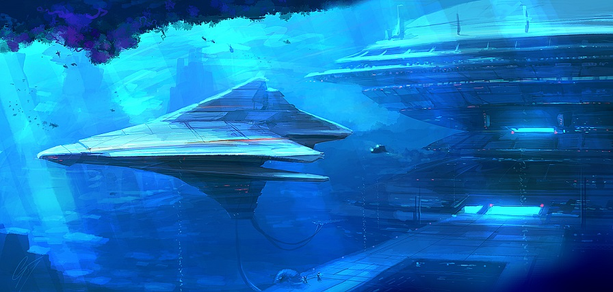 SPEEDPAINT___Underwater_Base_by_ANTIFAN_REAL