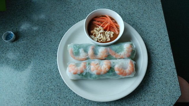 Riverview Cafe spring rolls