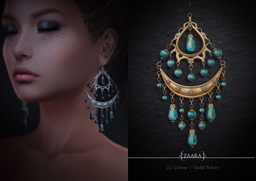 Zaara : Malini earrings for C88 April