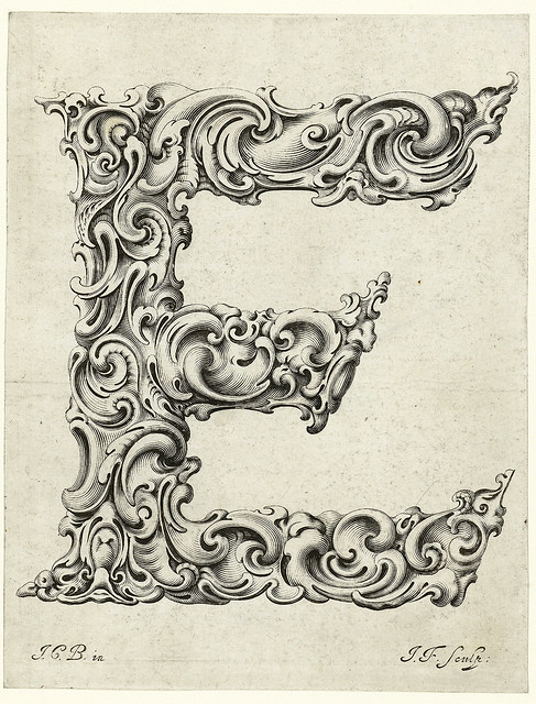 006-Letra E-Libellus Novus Elementorum Latinorum -J. C. Bierpfaff-  Rijksmuseum